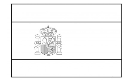 french flag to colour template spanish flag free printable colouring pages template french flag colour to