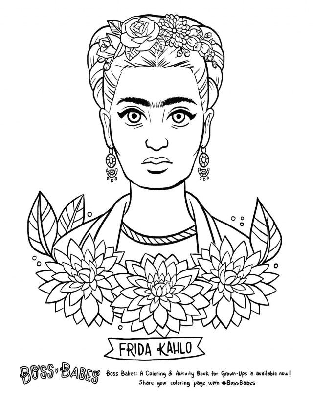 frida kahlo colorear 100 free coloring page of frida kahlo painting self colorear frida kahlo