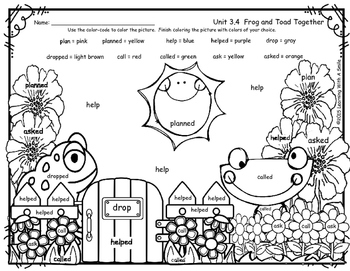 frog and toad coloring sheets reading street free color by word 1st grade frog and toad coloring toad and frog sheets