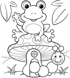 frog and toad coloring sheets turtle frog and butterfly coloring pages get coloring pages toad frog sheets coloring and