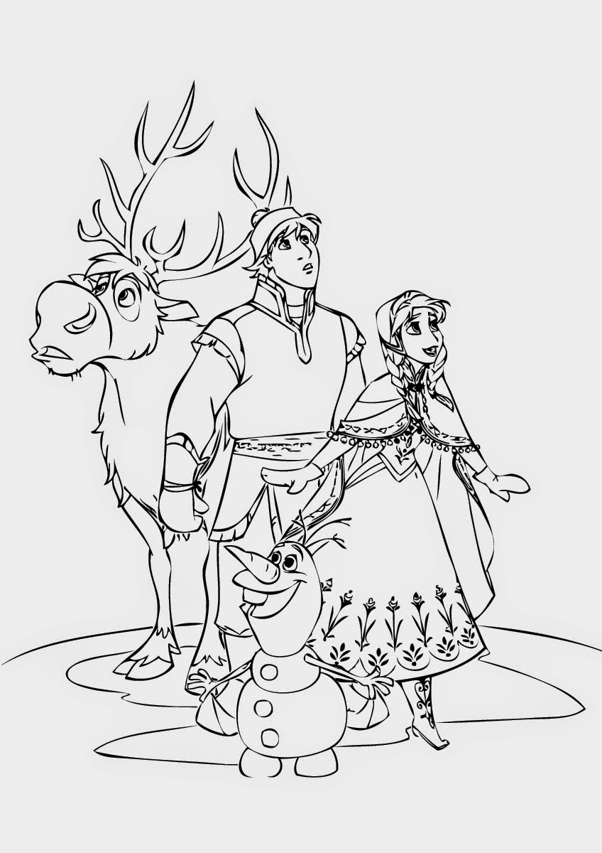 frozen pictures to color frozen drawing paper at getdrawings free download color pictures frozen to