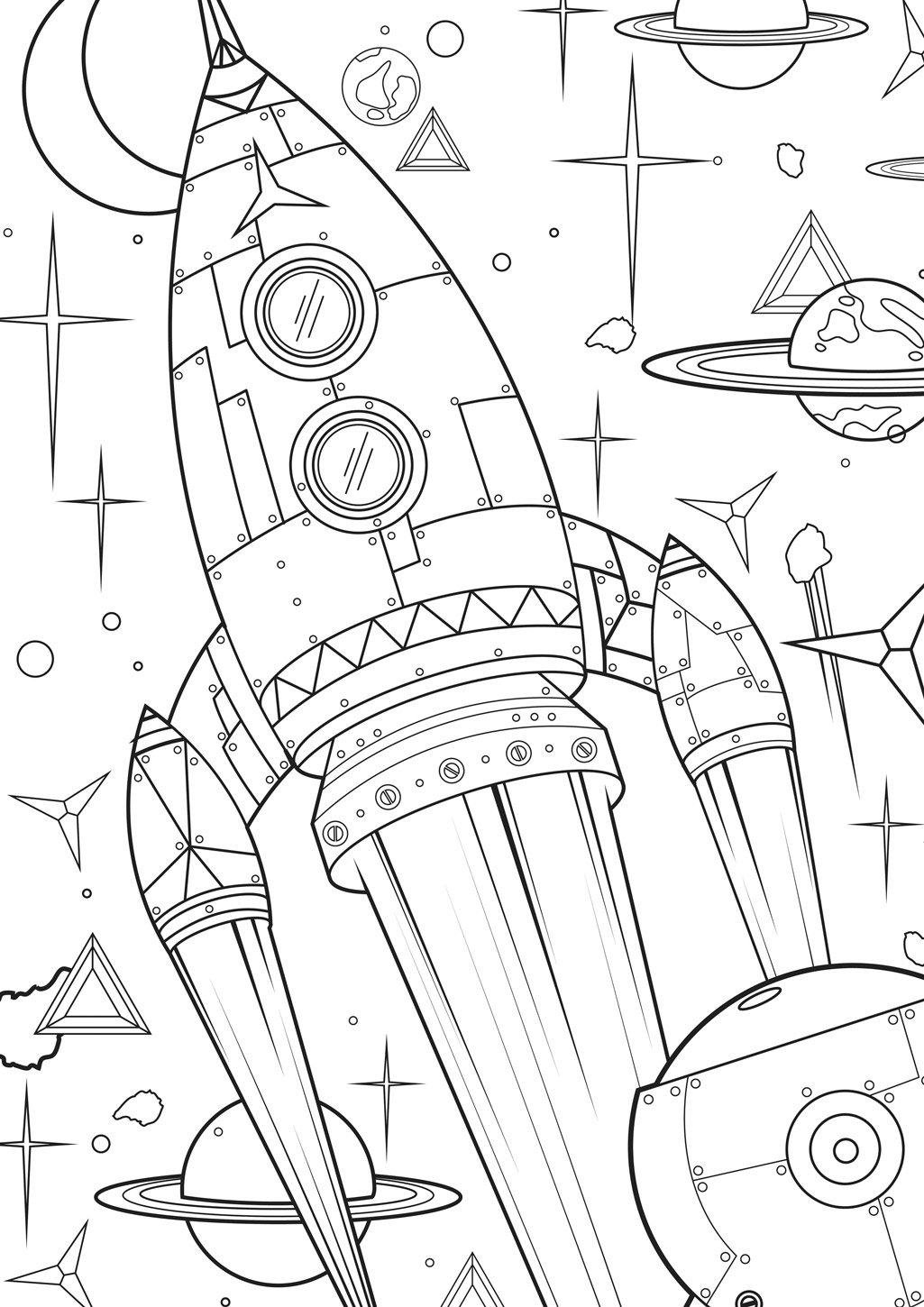 Fun colouring pages for kids