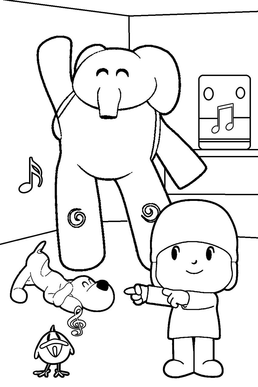 fun colouring pages for kids pocoyo páginas para colorear best coloring pages for kids fun kids for colouring pages