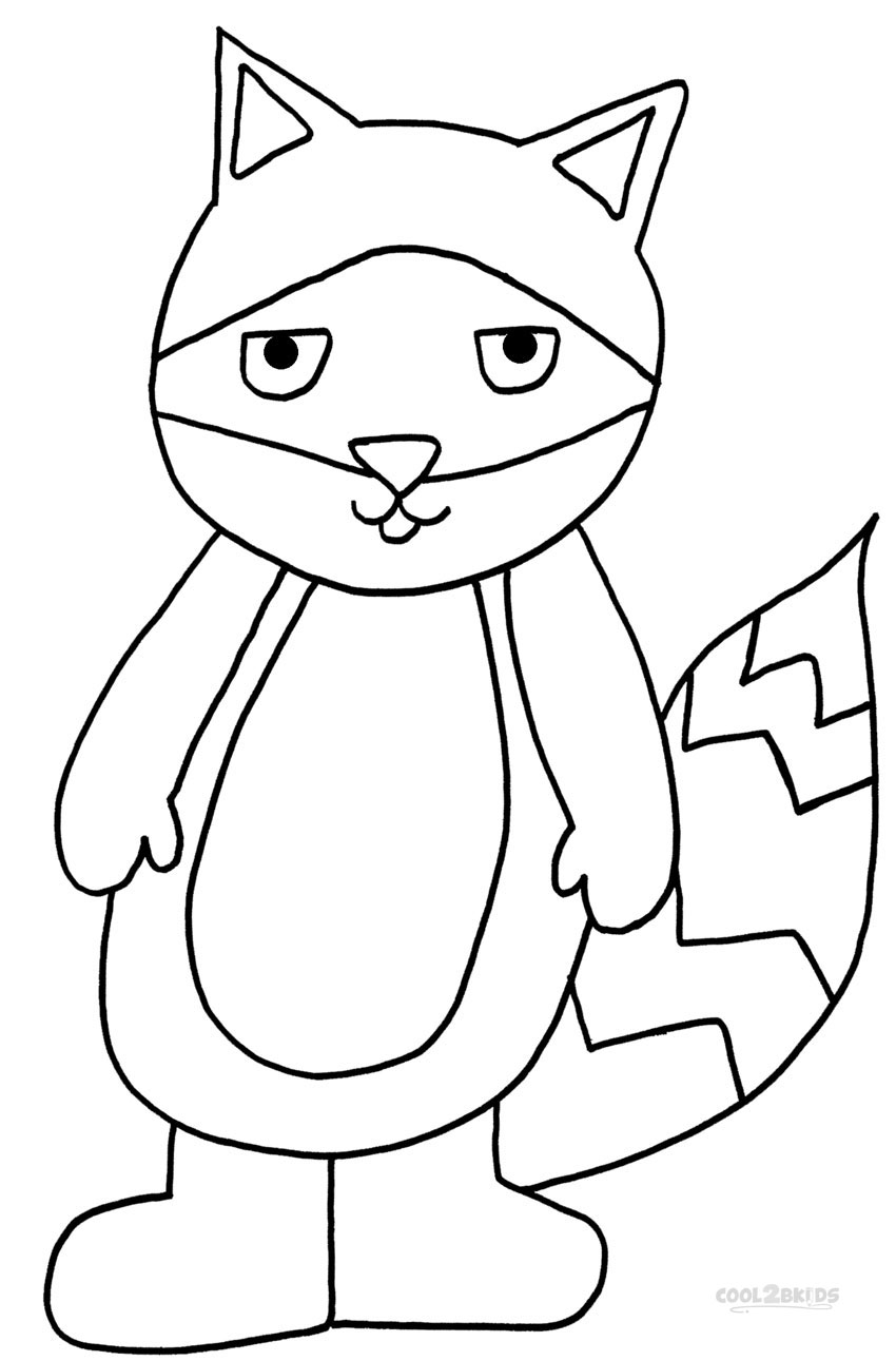 fun colouring pages for kids printable raccoon coloring pages for kids cool2bkids kids pages fun for colouring