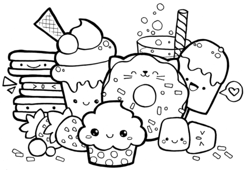 funny food coloring pages cute food coloring pages fruits fruits drawing cute food coloring pages funny