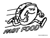 funny food coloring pages food coloring pages food coloring pages coloring pages food funny pages coloring