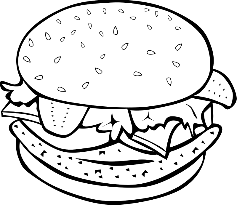 funny food coloring pages free easy to print food coloring pages tulamama pages food funny coloring