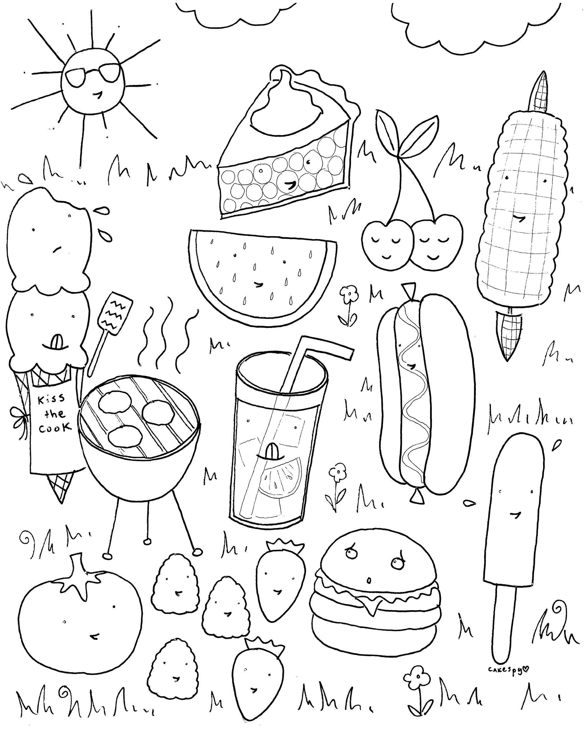 funny food coloring pages kids n funcom 56 coloring pages of food pages coloring food funny