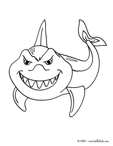 funny shark coloring pages cartoon shark funny fish paper invitation underwater coloring shark funny pages