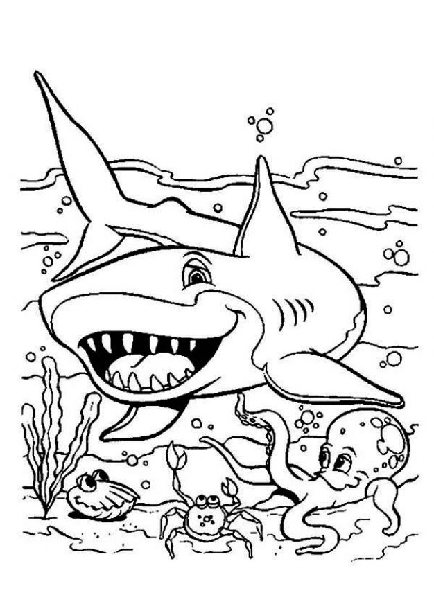 funny shark coloring pages funny looking shark ocean coloring pages underwater funny shark coloring pages