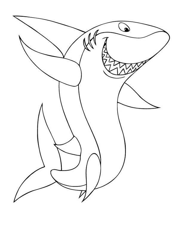 funny shark coloring pages shark sheets for kids funny 001 coloring sheets pages coloring shark funny