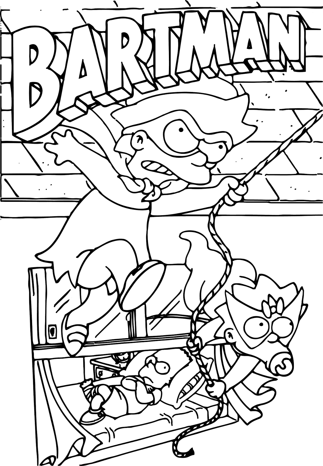 gangsta simpsons coloring pages bart simpson coloring pages at getcoloringscom free pages simpsons coloring gangsta