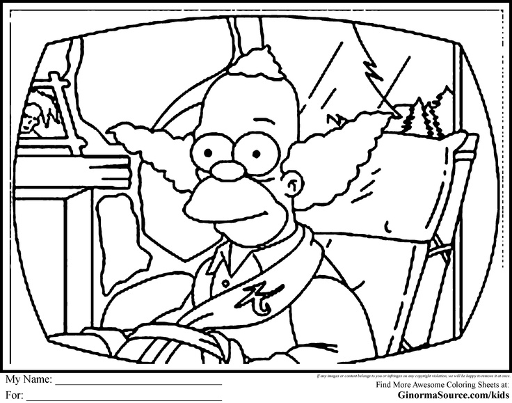 gangsta simpsons coloring pages bart simpson gangster coloring pages simpsons gangsta coloring pages