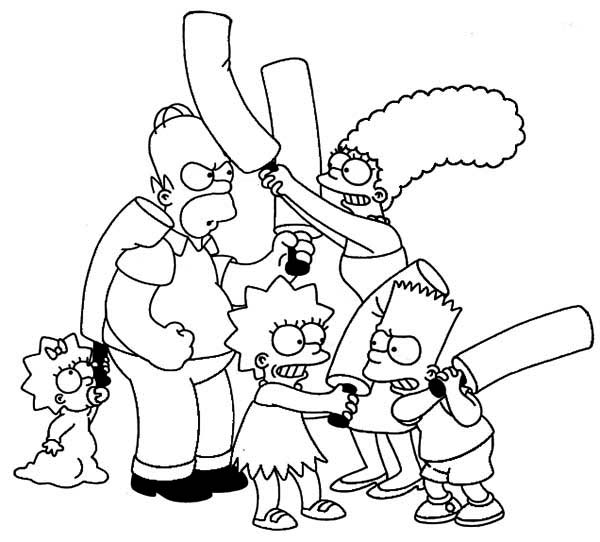 gangsta simpsons coloring pages bart simpson gangster coloring pages simpsons pages coloring gangsta
