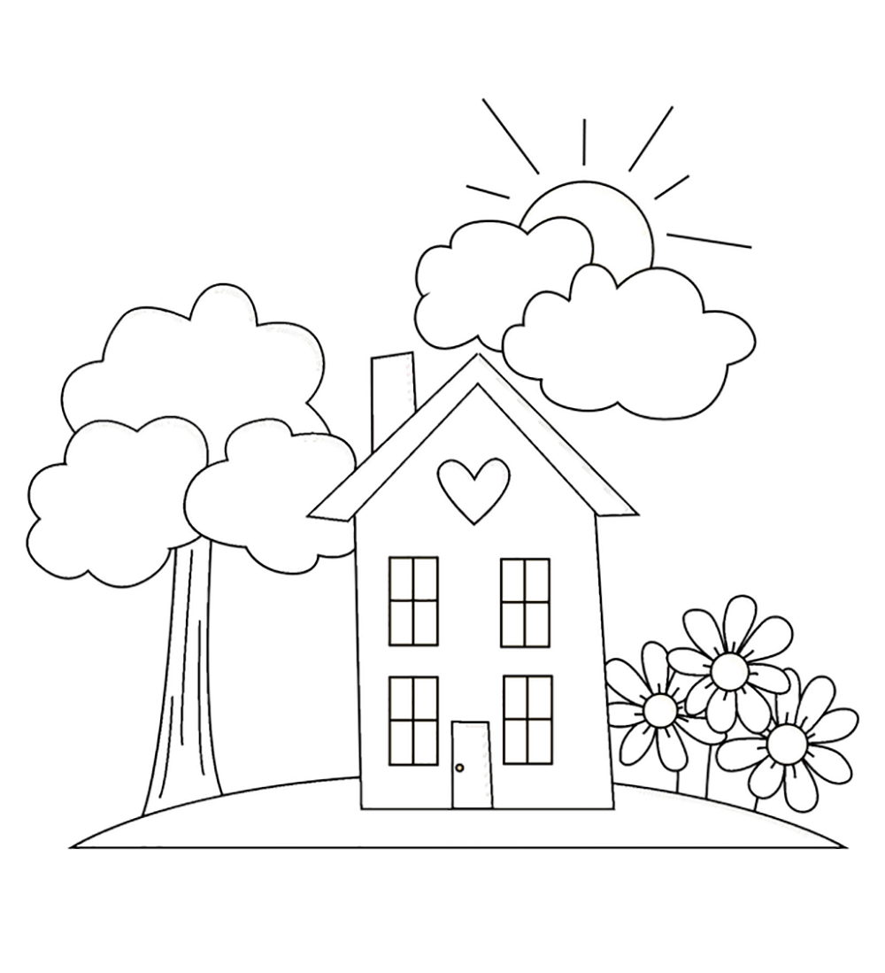 garden colouring pages for kids flower garden coloring pages to download and print for free garden colouring for pages kids