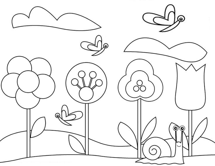 garden colouring pages for kids garden drawing for kid at getdrawings free download kids pages colouring garden for