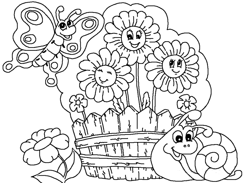 garden colouring pages for kids gardening coloring pages best coloring pages for kids colouring garden for kids pages