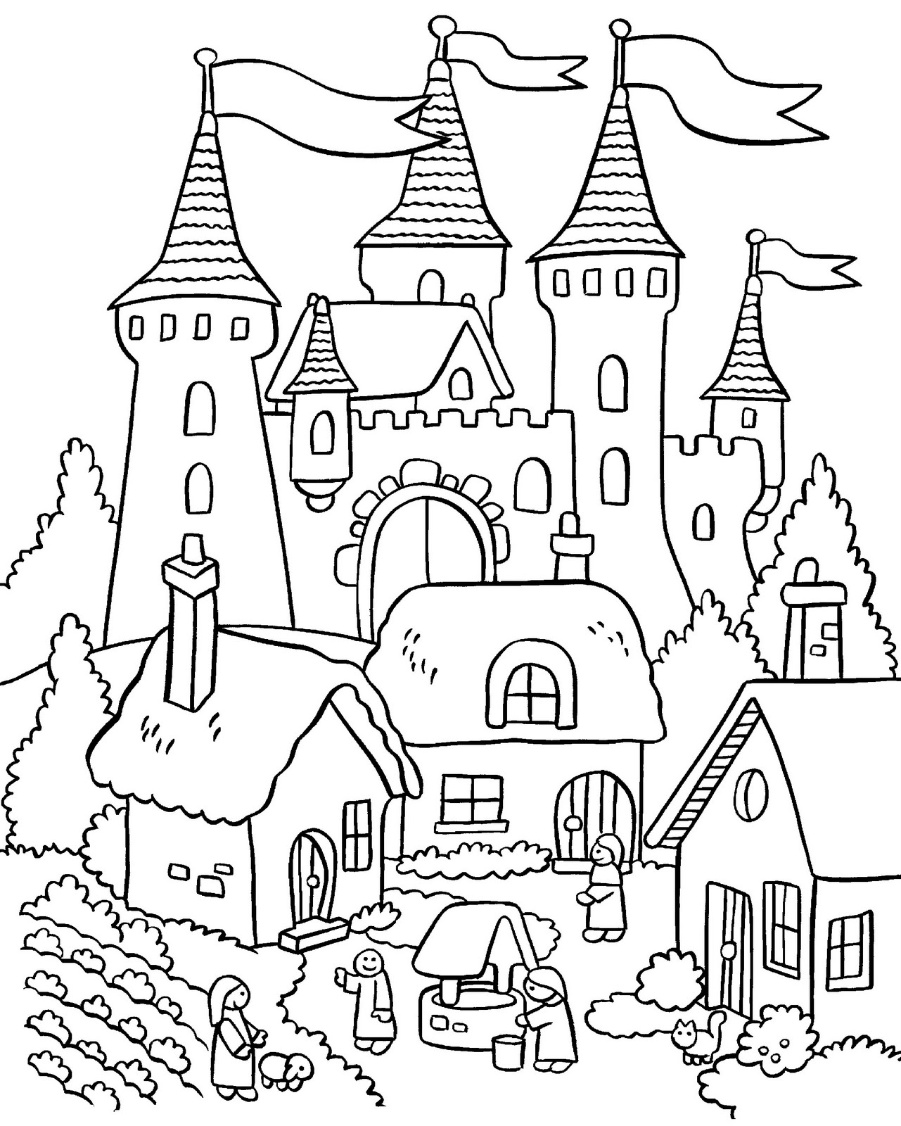 garden colouring pages for kids kids gardening coloring pages free colouring pictures to print garden colouring kids pages for