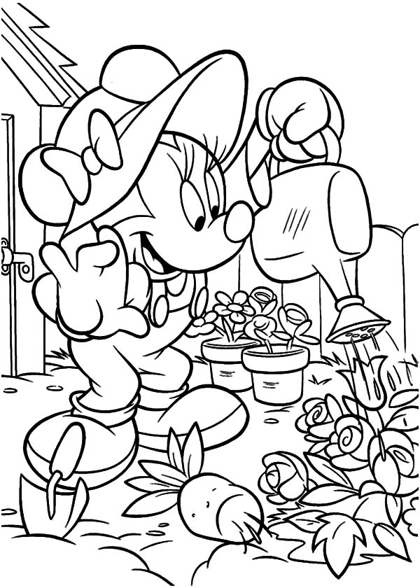 garden colouring pages for kids spring flower in garden coloring pages for kids spring for kids garden colouring pages