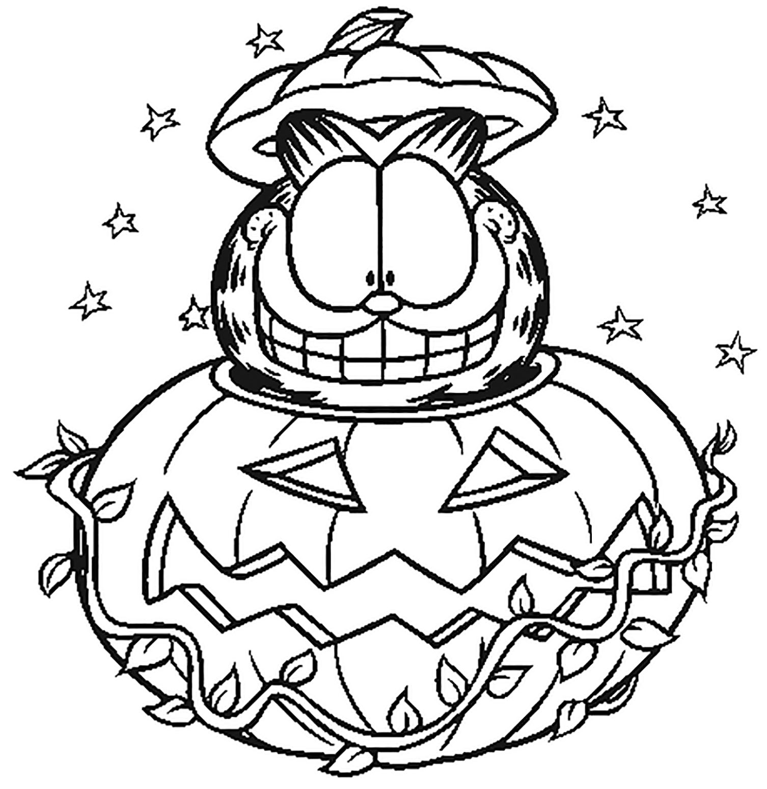 garfield for coloring garfield free to color for children garfield kids coloring for garfield