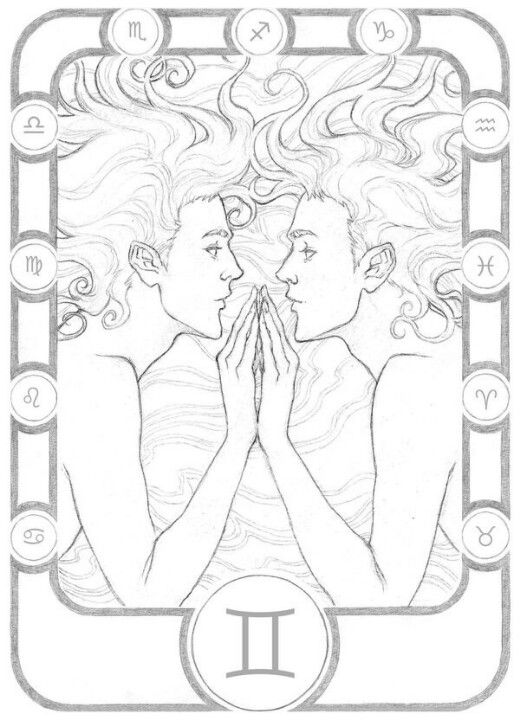 gemini zodiac coloring pages gemini lineart by micaelopes on deviantart in 2019 zodiac pages coloring gemini