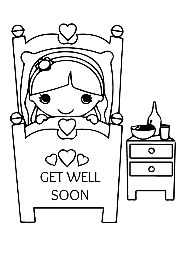 get well soon coloring pages to print free printable get well soon coloring pages at soon pages print coloring well get to