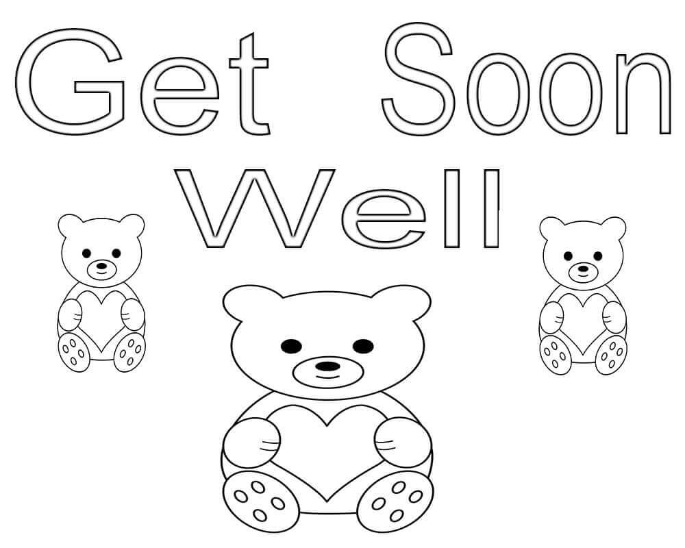 get well soon coloring pages to print get well soon coloring pages printables get well soon pages well soon print coloring to get