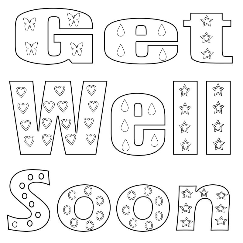 get well soon coloring pages to print get well soon coloring pages to print soon get well pages print coloring to