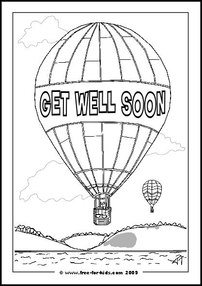 get well soon coloring pages to print get well soon coloring pages well soon pages coloring print get to