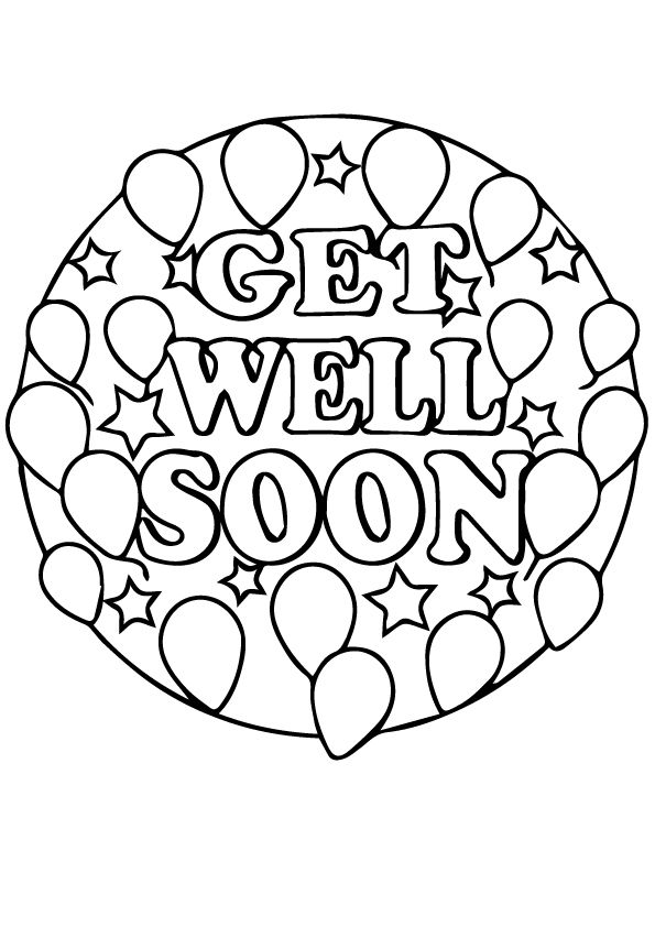get well soon coloring pages to print printable coloring pages get well soon pages to get soon print well coloring