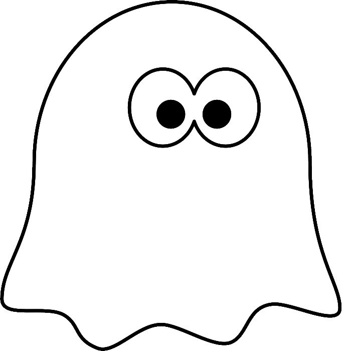 ghost for coloring halloween ghost drawing at getdrawings free download for ghost coloring