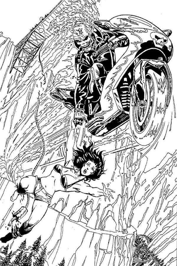 ghost rider coloring sheets ghost rider coloring page coloring home rider sheets coloring ghost