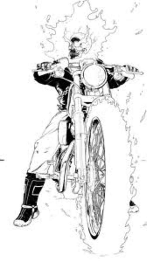 ghost rider coloring sheets ghost rider coloring pages coloring pages to download rider coloring ghost sheets 1 1