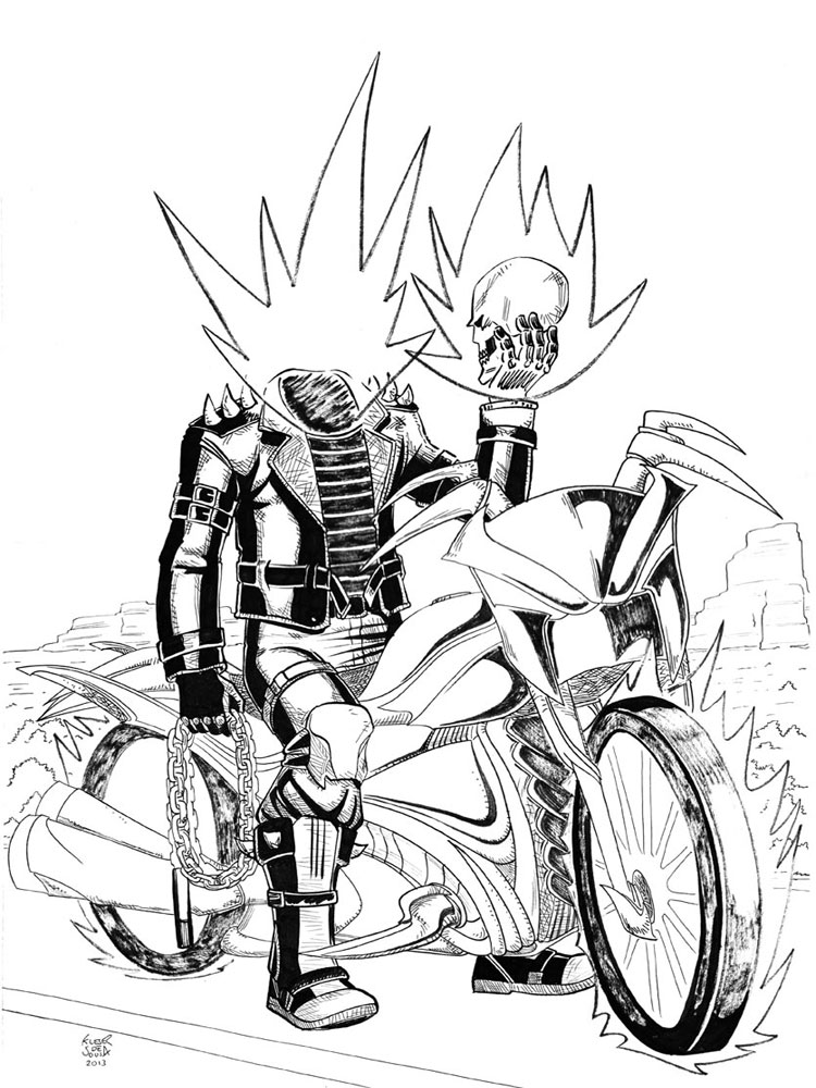 ghost rider coloring sheets ghost rider coloring pages to download and print for free rider coloring ghost sheets