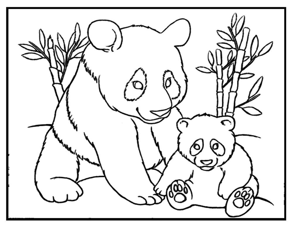 giant panda coloring pages printable giant panda coloring page bear coloring pages panda giant panda printable coloring pages
