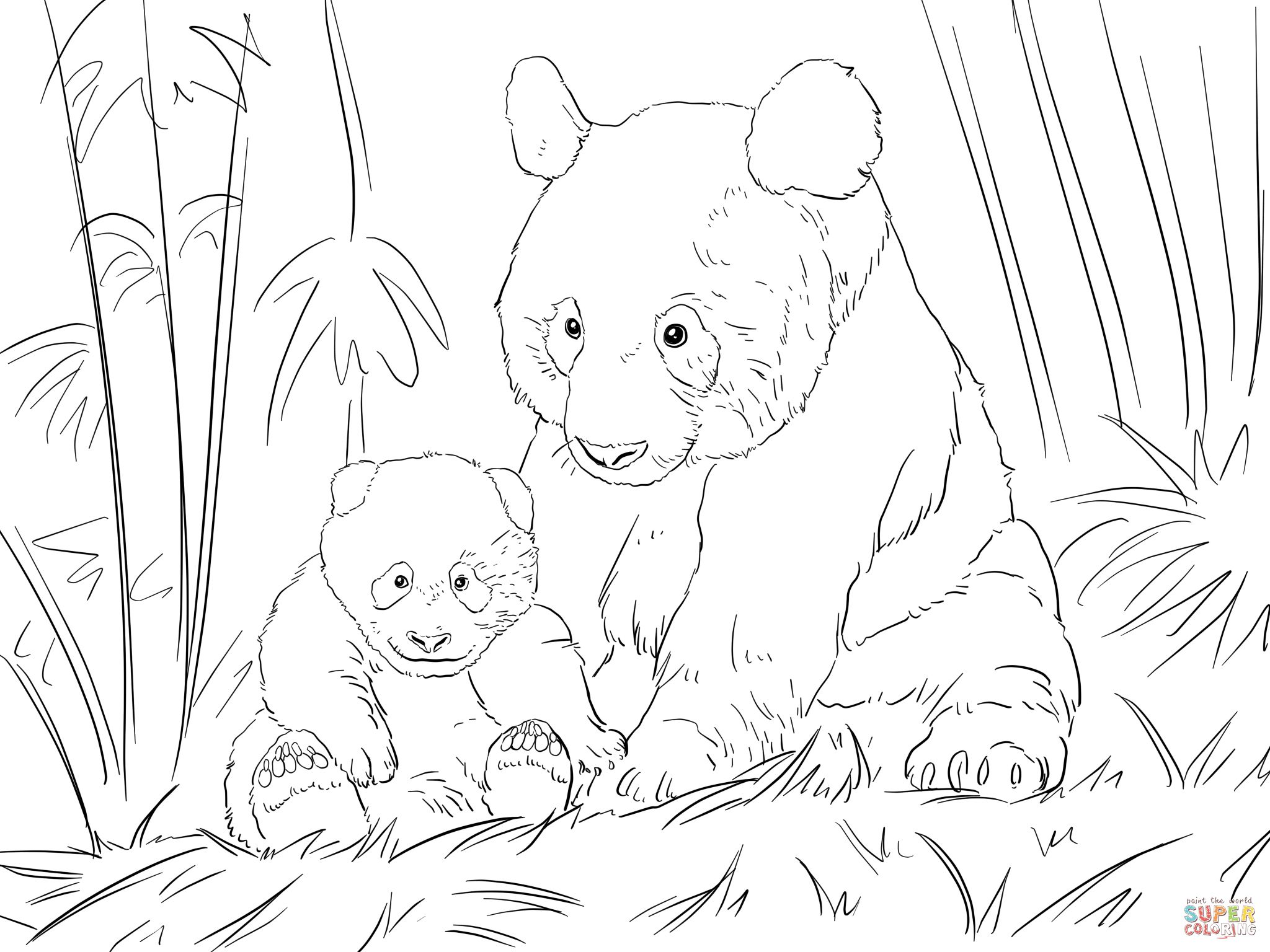 giant panda coloring pages printable giant panda coloring page free printable coloring pages pages printable giant panda coloring