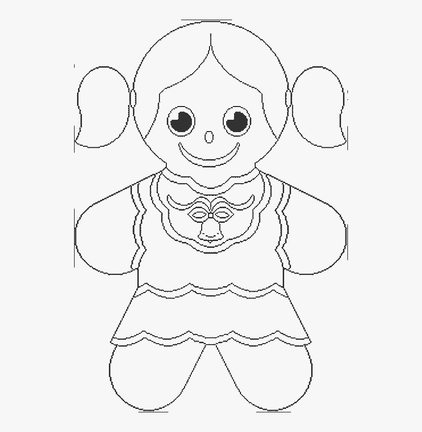 gingerbread girl coloring sheet coloring pages gingerbread girl at getcoloringscom free coloring gingerbread girl sheet