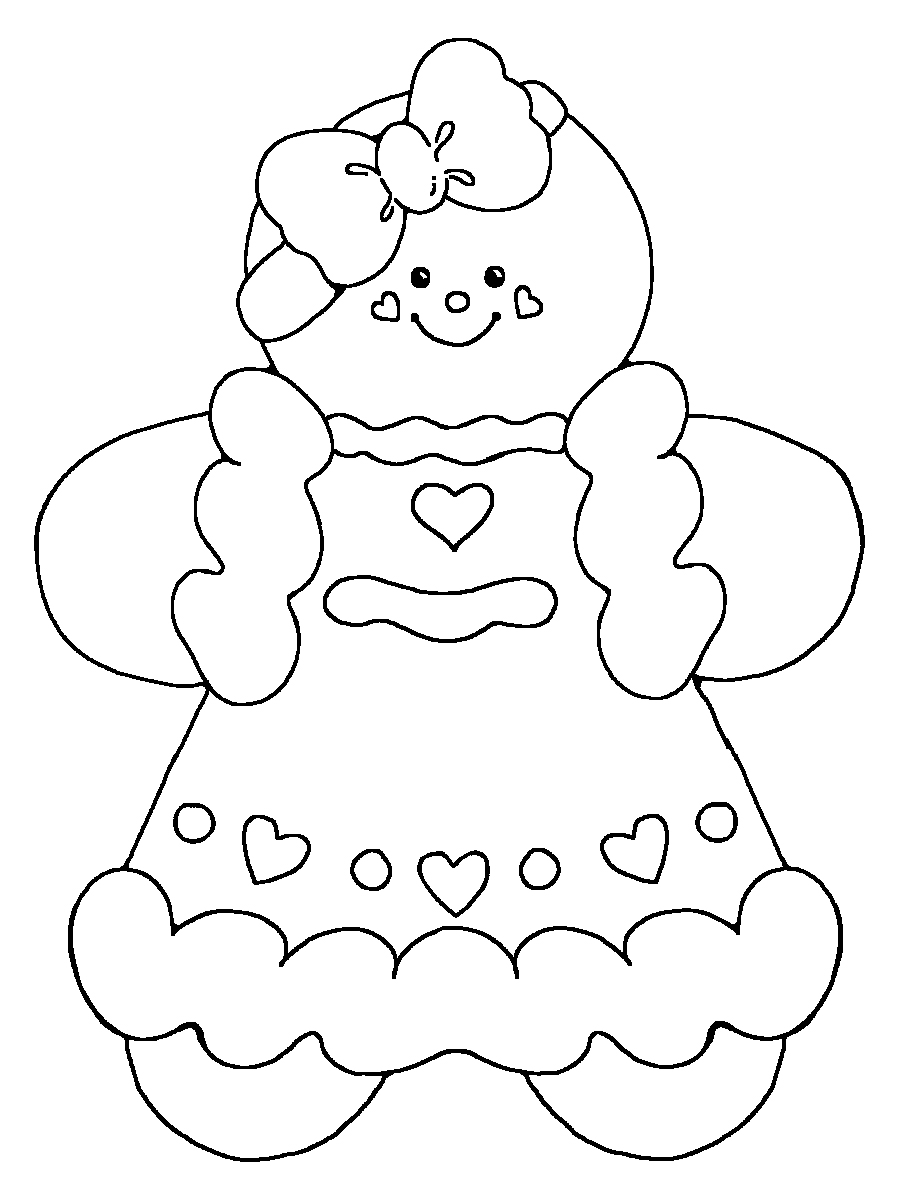 gingerbread girl coloring sheet printable gingerbread house coloring pages for kids coloring girl gingerbread sheet