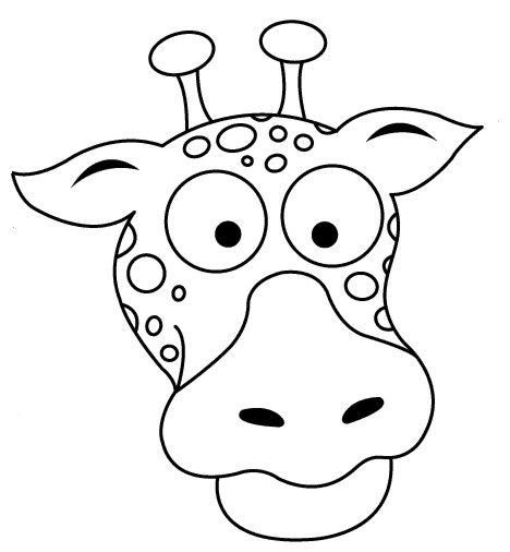 giraffe face coloring pages giraffe face bend coloring page coloring sheets giraffe face coloring pages