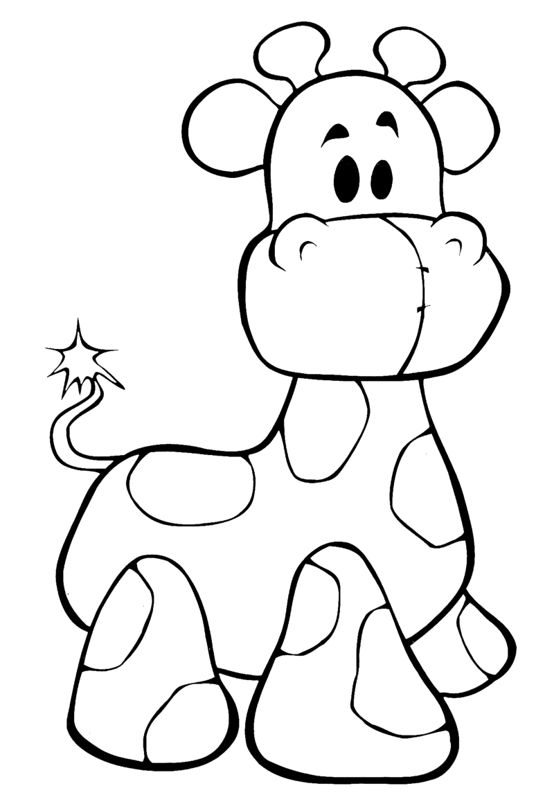 giraffe face coloring pages giraffe outline clipartsco pages giraffe coloring face