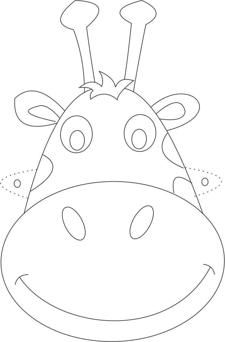 giraffe face coloring pages giraffe without spots coloring page coloring pages coloring giraffe face pages