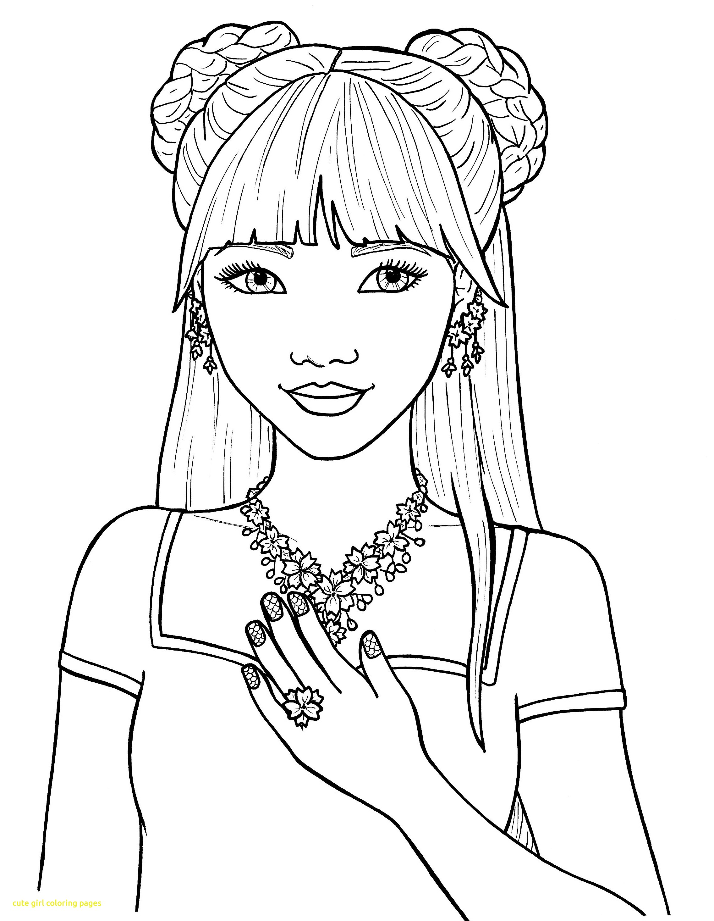 girls colouring pictures cute girl coloring pages print at getcoloringscom free pictures colouring girls