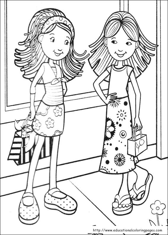 girls colouring pictures daisy girl colorable line art free clip art colouring pictures girls