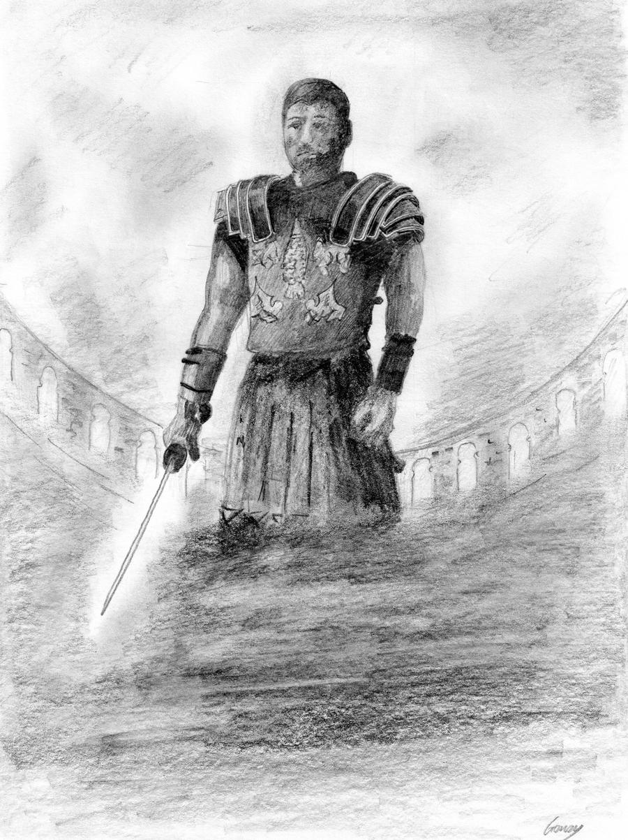 gladiator drawing gladiator russell crowe by g17rdy on deviantart gladiator drawing