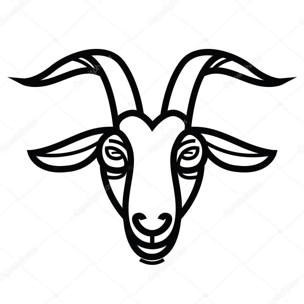 goat head drawing goat head by winds of chaos on deviantart goat head drawing