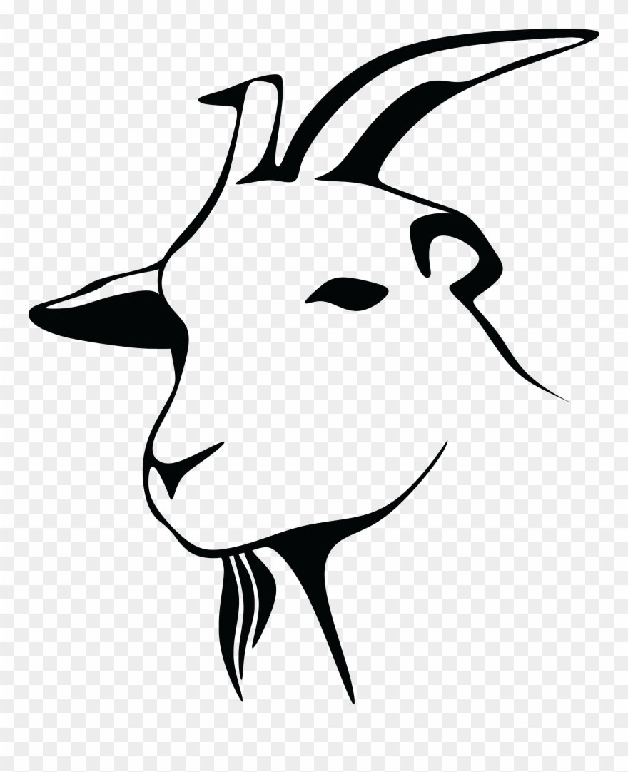 goat head drawing goat head drawing free download on clipartmag drawing goat head