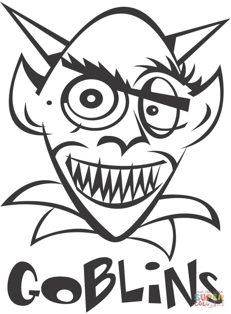 goblin pictures to color goblin coloring page free printable coloring pages to color goblin pictures