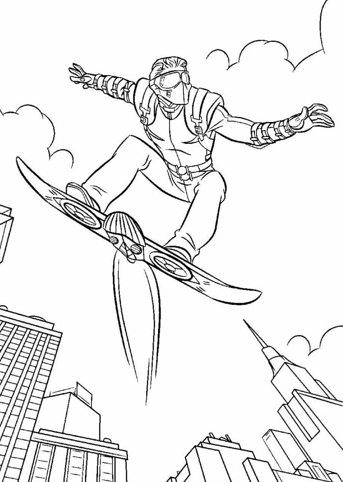 goblin pictures to color green goblin coloring page color goblin to pictures