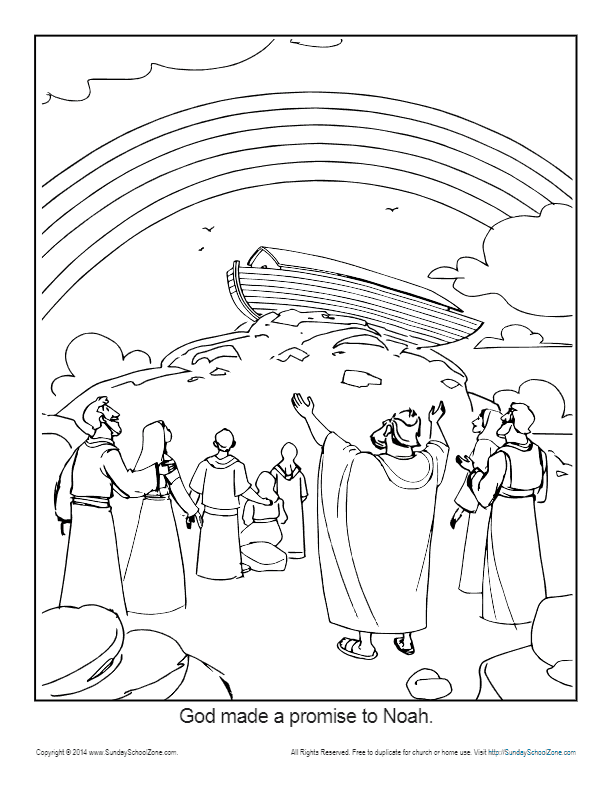 gods promise rainbow coloring pages 16 best images about kdo god39s promise on pinterest pages promise rainbow coloring gods
