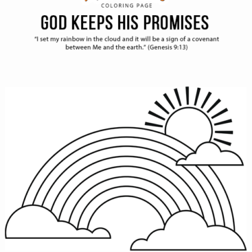 gods promise rainbow coloring pages bible coloring page mary and yeshua with perfume free promise pages gods rainbow coloring
